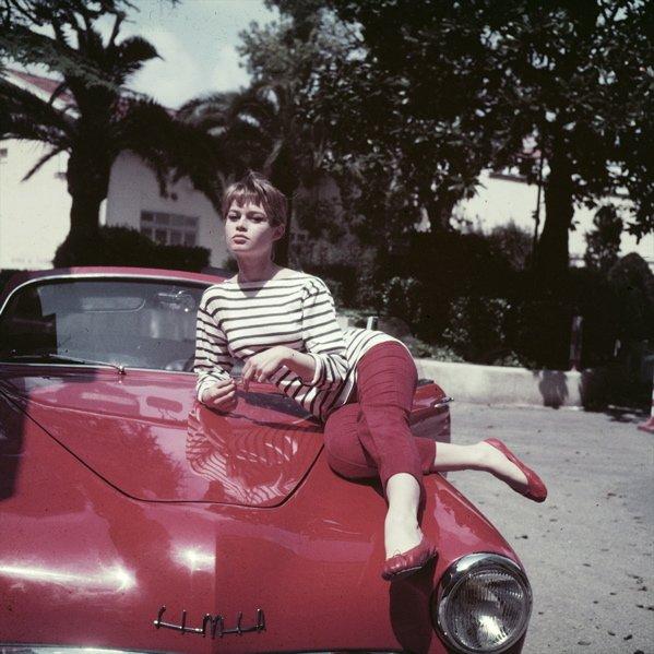 Brigitte Bardot arborant la paire Cendrillon