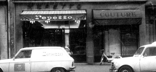 L'atelier Repetto dans les années 50