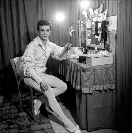 Roland Petit, son fils (célèbre danseur)