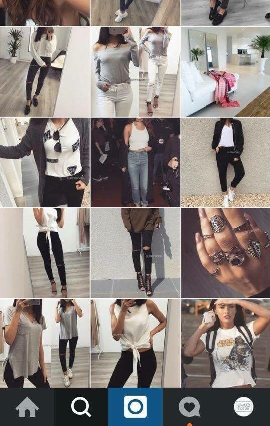 """Les """"outfit accounts"""" sur Instagram : des milliers d'idées de tenues"""