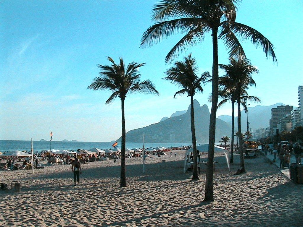 Plage brésilienne : on a envie de sauter dans l'avion pour y bronzer !