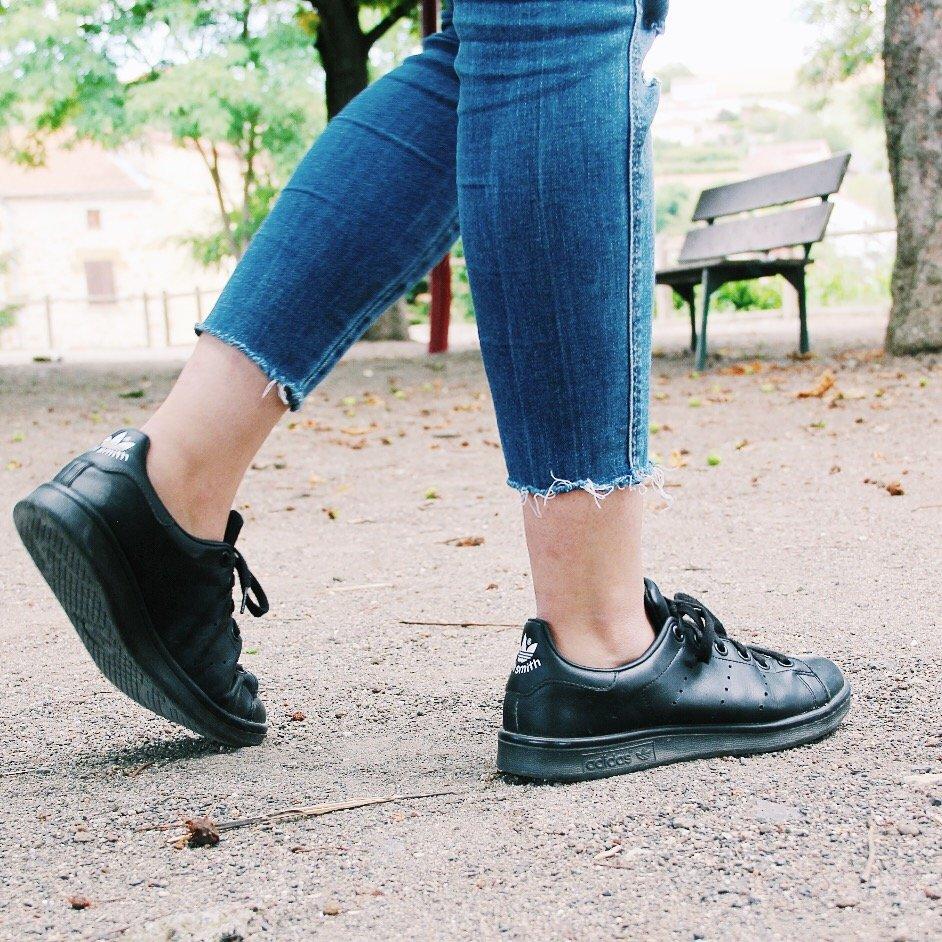 Jean : Mango Sneakers : Adidas