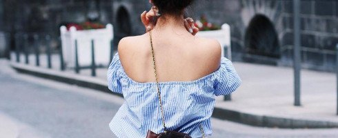 Comment porter le top à l'espagnole ? / How to wear the off-the-shoulder top ?