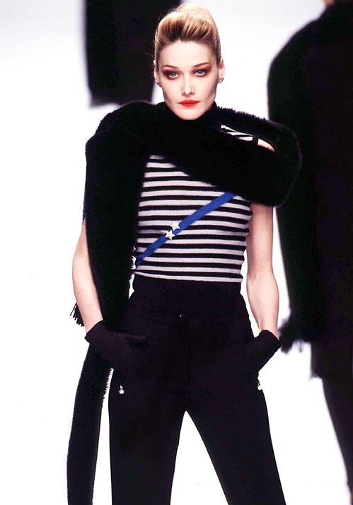 Carla Bruni - Automne-Hiver 1996