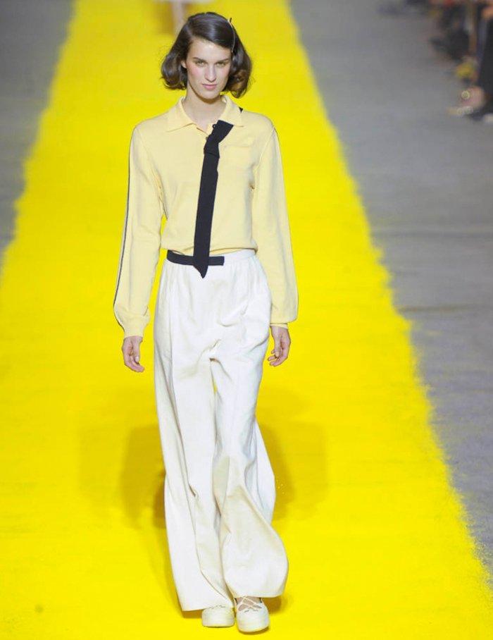 Pas d'ourlets, coutures apparentes : l'habillé-négligé par excellence, mon MOTTO.